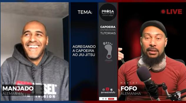 Manjado beim Prosa Talkcast